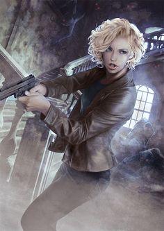 Murphy / The Dresden Files by Mika-Blackfield on DeviantArt
