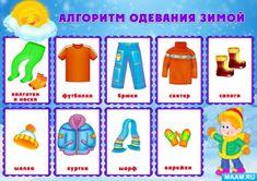 Алгоритм одевания картинка схема