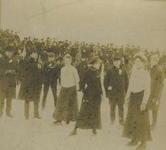 & : Skating on Wade Park Lagoon : 1900 Ice Skating, Figure Skating, Cleveland State, Tall Tales, Skating Dresses, Skate, Ohio, Park, History