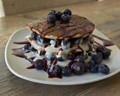 GF Paleo pancakes with coconut cream | THE LOW HISTAMINE CHEF