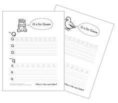 Free Printable Alphabet Tracing Worksheets #homeschool