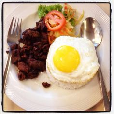 Beef Tapa with Egg!