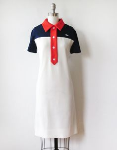 vintage 1960s Chemise Lacoste dress