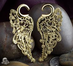 Brass angel wing weights by Tawapa