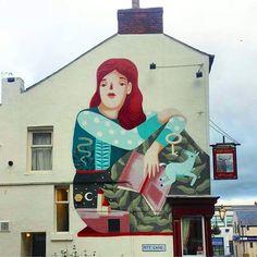 Frauisa Featurewallsshf in Sheffield, UK, 2016
