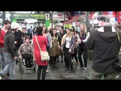 NMIT: Flash Mob at Preston Market - September 21st 2012 - YouTube
