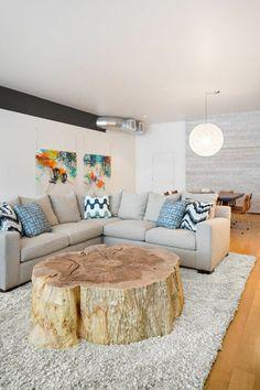 Wohnzimmertisch aus Holz selber bauen - tolle DIY Ideen zum Nachmachen