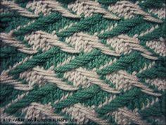Zig-zag Jacquard  |  knittingunlimited.blogspot.com