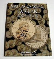 HE-Harris The Sacagawea Dollar 2005-2008 Coin Folder Coin Collecting Book and…
