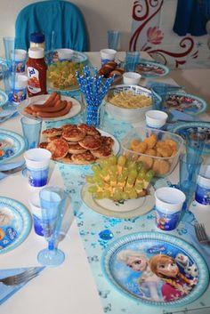 Mottoparty: ,,Die Eiskönigin - Frozen''    Alinas 6-ter Geburtstag! - Tatis-Testinsel Produkttests und Familien Blog
