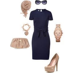Little Navy Dress - I have the shoes ... Now to get the dress and accessories!!