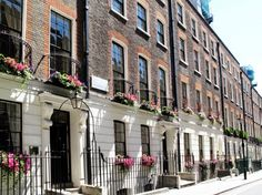 london posh terrace