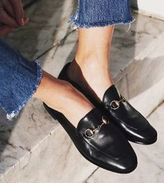 8694d790aaf It s all about the toe box Gucci Loafers Women