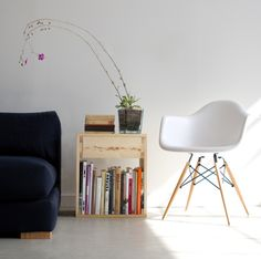 diy project: pure + simple side table