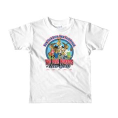 The Five Burros of New York ©.-Short sleeve kids t-shirt