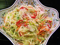 Weißkohl - Partysalat                                                                                                                                                                                 Mehr