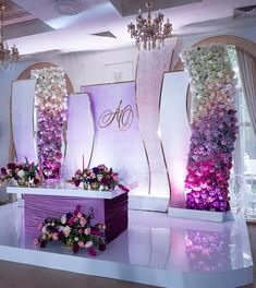 68 ideas wedding backdrop stage simple for 2019 Wedding Stage Design, Wedding Stage Decorations, Wedding Centerpieces, Wedding Designs, Wedding Table, Diy Wedding, Wedding Events, Wedding Ceremony, Wedding Mandap