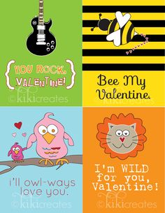 kiki creates: Free Kids Valentines {Free Download}