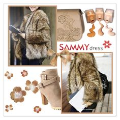 """fur"" by ena-ena ❤ liked on Polyvore featuring perfect, brown, cold and fur"