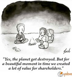 Profit and growth on the expense of our only known dwelling planet. Our amazing Earth, being destroyed for pieces of paper fueled by a system built on arrogant pride, greed, and power... #Plutocracy #cronyCapitalism #usury #fraud #usurpers #debtSlavery #perpetualDebt #perpetualGrowth #perpetualWars #BankingEmpire #bankingCabal #MonetaryReform #occupy99 #Occupy99