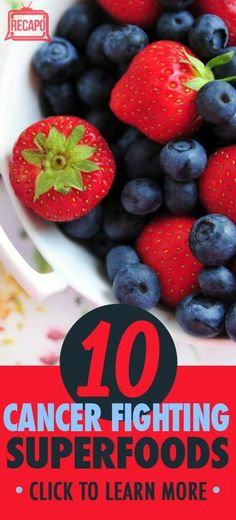 You'll want to remember these superfoods to help decrease your risk for cancer. Pin Dr Oz's top 10 list for easy reference! http://www.recapo.com/dr-oz/dr-oz-diet/dr-oz-cancer-fighter-foods-folate-lutein-lycopene-quercetin/