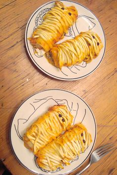 Pasta Mummies. Cannelloni wrapped with linguine noodles