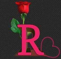 R Letter Design, Alphabet Letters Design, Wallpaper Iphone Love, Name Wallpaper, Foto Instagram, Instagram Logo, Beautiful Rose Flowers, Amazing Flowers, Good Morning Cartoon