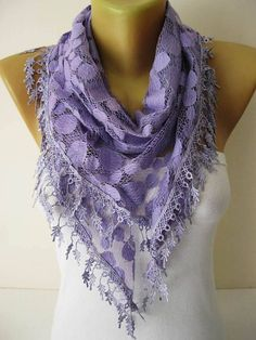 Purple Scarf  Trend scarf-gift Ideas For Her-Women's