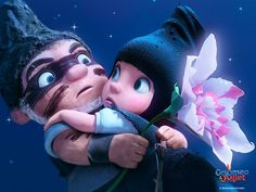 Gnomeo and Juliet - couldn't bear all the cuteness in this movie!! <3