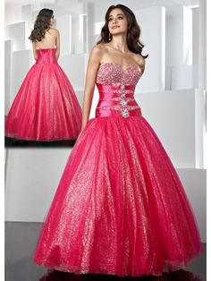 Charmeuse Sweetheart Hand-Beaded Bodice Long Ball Gown Prom Dress