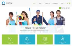 PE Cleaning Company - #multipurpose clean and modern #WordPress #theme for small companies to present its #services.