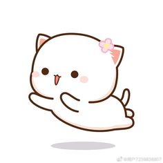 Cute Cartoon Images, Cute Love Cartoons, Cute Cartoon Wallpapers, Cute Images, Cute Kawaii Animals, Kawaii Cat, Cute Bear Drawings, Kawaii Drawings, Chibi Coloring Pages