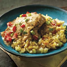 Simple Malta Chicken With Plantain Rice-Apron's