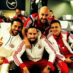 Qatar here we go! Ready for departure! #MiaSanMia