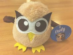100 New Plush Owlys Giveaway by Daina Lightfoot for HootSuite