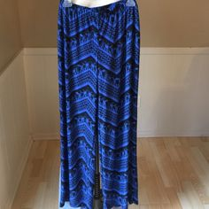 Spotted while shopping on Poshmark: Blue Tribal Palazzo Pants! #poshmark #fashion #shopping #style #AB Studio #Pants
