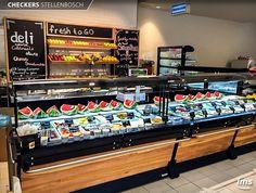 Nuestros equipos son parte del sector de Frutas y Jugos del Supermercado Checkers en Stellenbosch, Sudáfrica.