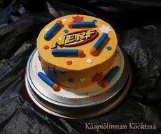 Kääpiölinnan köökissä: Pienen pojan Nerf-kakku