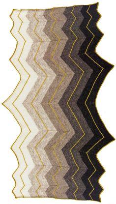 Volt Shawl Pattern Printed