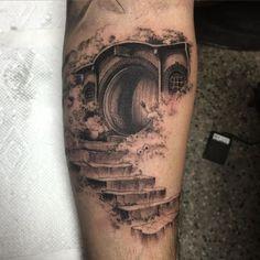Resultado de imagem para lord of the rings tattoo