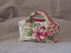 Handmade Fabric Handbag  Embroidered and Hand by nedaoriginals, $48.00