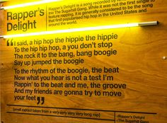 sugar hill hang_rappers delight printed on plywood_wall art http://innersmile.biz/interior-spaces.html