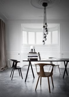 Design news from the Danish company &Tradition. Their products are based on the Nordic design tradition adapted to the modern, global world. &Traditions world of design consists of beautifu… Interior Architecture, Interior And Exterior, Chair Design, Furniture Design, Furniture Ideas, Scandinavia Design, Dining Chairs, Dining Table, Dining Room