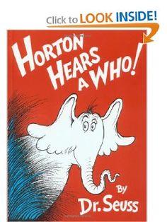 Amazon.com: Horton Hears A Who! (9780394800783): Dr. Seuss: Books