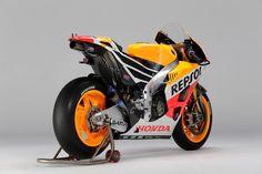 HONDA RC213V 1000cc 2013 Rear Side
