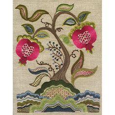 Talliaferro Pattern – Pomegranate Tree Sampler - Create in Stitch   Country Bumpkin
