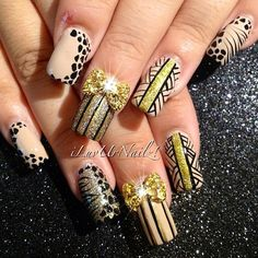 Another version of my last mani with some tweaks in it for one of my fav clients!