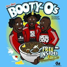 New Day's Booty-O's Cereal!