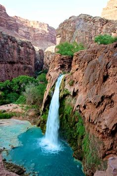 Headed to see this beauty in June!!   Havasu Falls, Havasupai, AZ