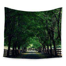 Welcome Home by Robin Dickinson Wall Tapestry